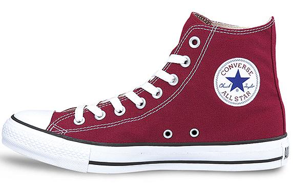Converse Canvas All Star Hi コンバース キャンバス オールスター ハイ(Maroon)