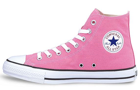 Converse Canvas All Star Hi コンバース キャンバス オールスター ハイ(Pink)