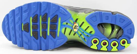 Nike Air Max Plus Foot Locker UK ナイキ エア マックス プラス フットロッカーUK限定(Black/Blue Spark-Volt-Anthracite)