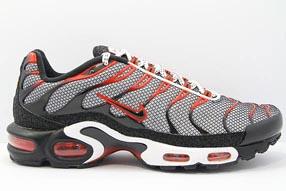 Nike Air Max Plus Foot Locker UK ナイキ エア マックス プラス フットロッカーUK限定(White/Black-Challenge Red)