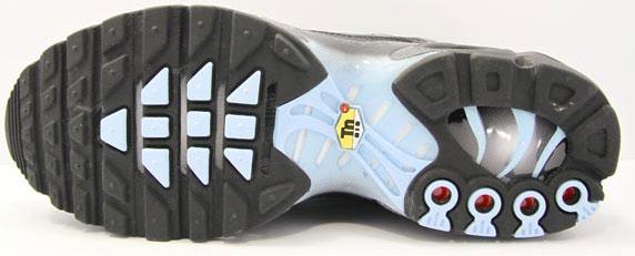 Nike Lady Air Max Plus Foot Locker UK ナイキ レディー エア マックス プラス フットロッカーUK限定(Black/Ice Blue-Flint Grey)