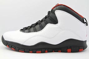Nike Air Jordan 10 Retro ナイキ エア ジョーダン 10 レトロ(White/Varsity Red/Black)