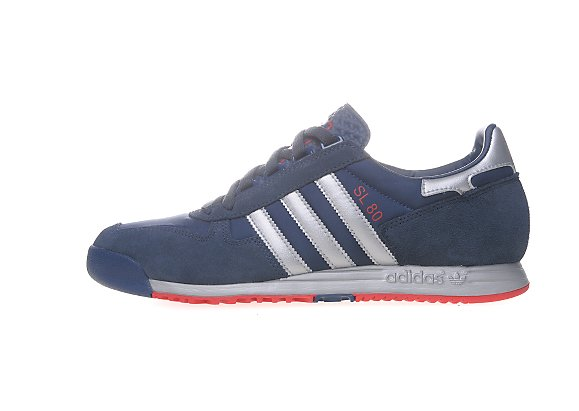 Adidas Originals SL 80 JD Sports アディダス オリジナルス スーパーライト 80 JD スポーツ別注(Solid Blue/Metallic Silver/Red)
