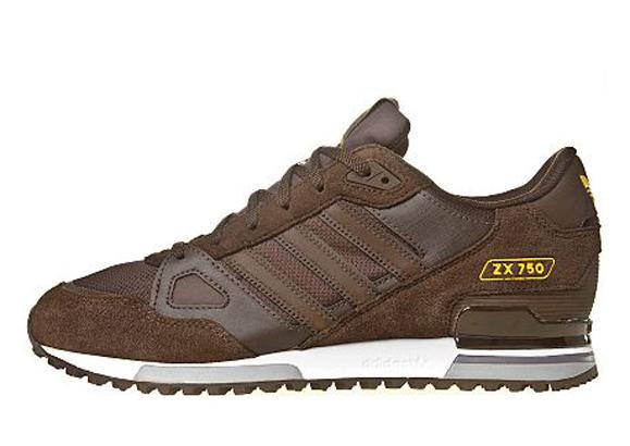 Adidas Originals ZX 750 JD Sports アディダス オリジナルス ZX 750 JD スポーツ別注(Medium Brown)