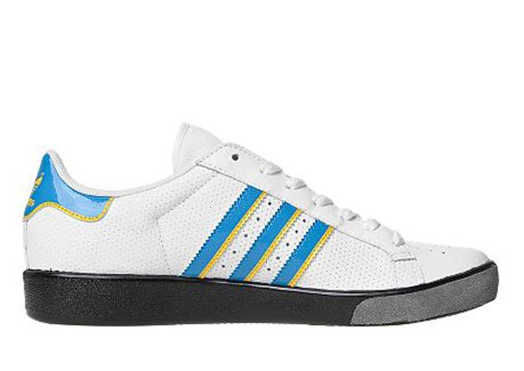 Adidas Originals Forest Hills JD Sports アディダス オリジナルス フォレスト ヒルズ JD スポーツ別注(White/Blue/Sunshine)