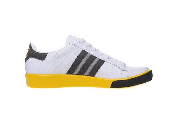 Adidas Originals Forest Hills JD Sports アディダス オリジナルス フォレスト ヒルズ JD スポーツ別注(White/Dark Grey/Sunshine Yellow)