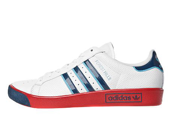 Adidas Originals Forest Hills JD Sports アディダス オリジナルス フォレスト ヒルズ JD スポーツ別注(White/Blue/Red)