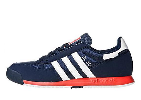 Adidas Originals SL 80 JD Sports アディダス オリジナルス スーパーライト 80 JD スポーツ別注(Navy/White/Poppy)