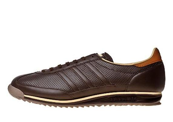 Adidas Originals SL 72 Only at UK アディダス オリジナルス スーパーライト 72 UK限定(Dark Brown/Tan)