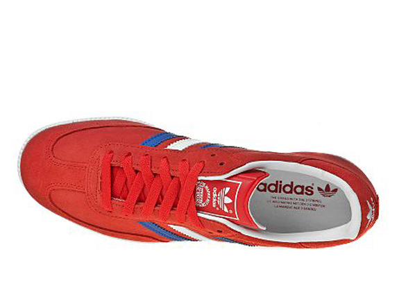 Adidas Originals Samba Only at UK アディダス オリジナルス サンバ UK限定(Light Scarlet/White/Royal Blue/Gold)
