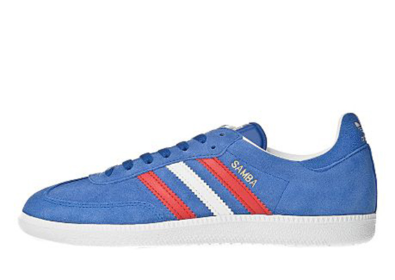 Adidas Originals Samba Only at UK アディダス オリジナルス サンバ UK限定(Royal Blue/Light Scarlet/White)