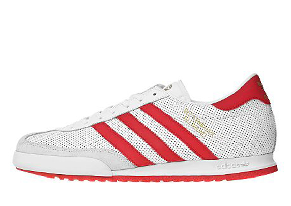 Adidas Originals Beckenbauer Allround Only at UK アディダス オリジナルス ベッケンバウワー オールアラウンド UK限定(White/Light Scarlet/Gold)