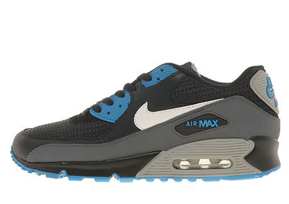 Nike Air Max 90 Only at UK ナイキ エア マックス 90 UK限定(Black/Grey/Tech Blue)