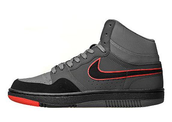 Nike Court Force Hi JD Sports ナイキ コート フォース JD スポーツ別注(Anthracite/Black/Red)