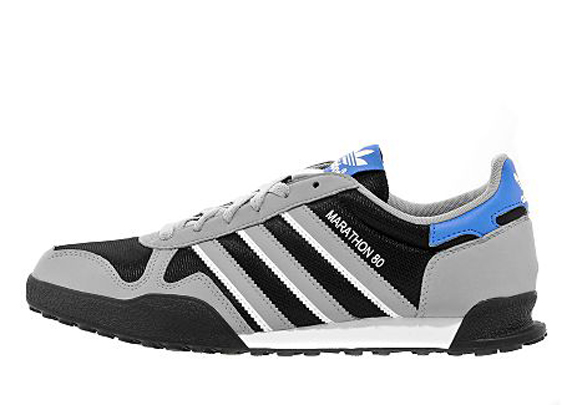 Adidas Originals Marathon 80 JD Sports アディダス オリジナルス マラソン 80 JD スポーツ別注(Black/Aluminium/White/Blue)
