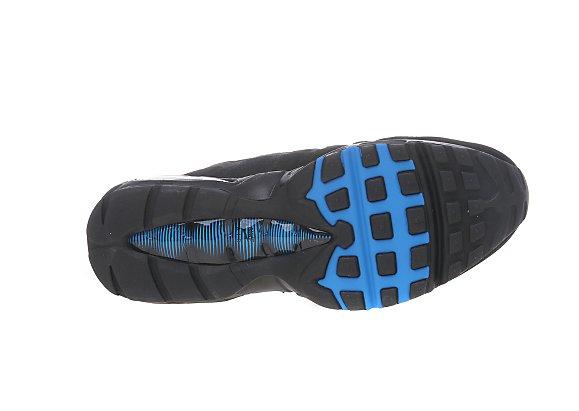 Nike Air Max 95 JD Sports ナイキ エア マックス 95 JD スポーツ別注(Black/Metallic Silver/Photo Blue)