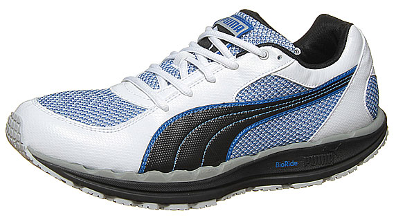 Puma Body Train Mesh プーマ ボディ トレイン メッシュ(WHITE-BLACK-SNOKEL BLUE)