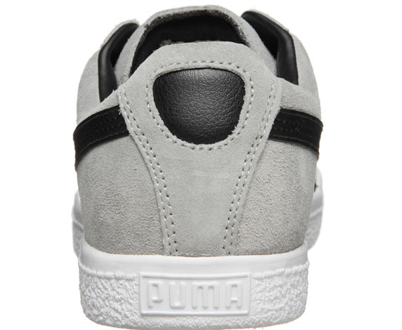Puma Clyde Script プーマ クライド スクリプト(LIMESTONE GRAY-BLACK)