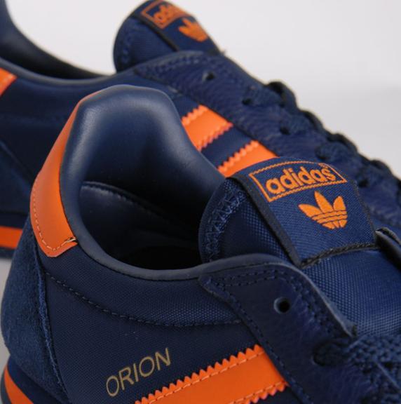 Adidas Originals Orion size? Exclusive アディダス オリジナルス オリオン size? 別注(Navy/Orange)