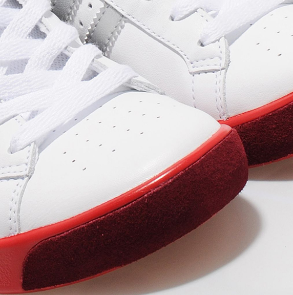 Adidas Originals Forest Hills size? Exclusive アディダス オリジナルス フォレスト ヒルズ size? 別注(White/Silver/Red)
