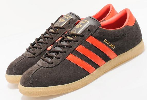 Adidas Originals Malmo size? Exclusive アディダス オリジナルス マルメ size? 別注(Dark Brown/Orange)