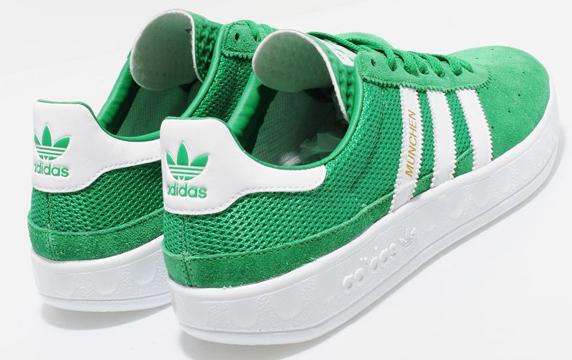 Adidas Originals Munchen size? Exclusive アディダス オリジナルス ミュンヘン size? 別注(Green/White)