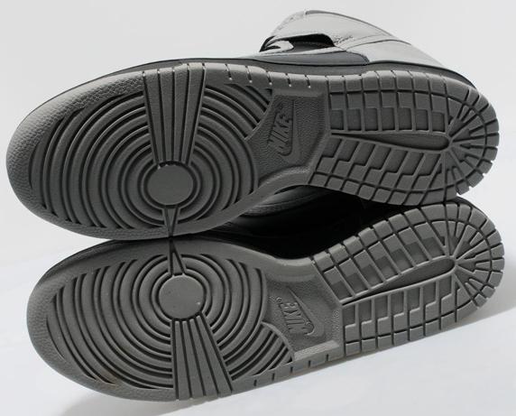 Nike Dunk High Only at UK ナイキ ダンク ハイ UK限定(Black/Medium Grey)