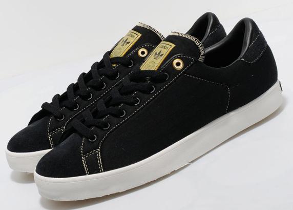 Adidas Originals Rod Laver Vintage Lux size? Exclusive アディダス オリジナルス ロッド レイバー ヴィンテージ ラックス size? 別注(Black/White)