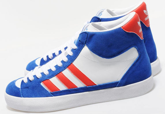 Adidas Originals Superskate Hi size? Exclusive アディダス オリジナルス スーパースケート ハイ size? 別注(White/Poppy/Royal)