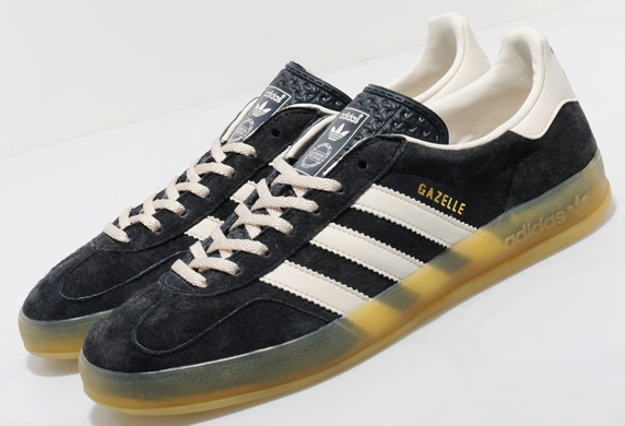 Adidas Originals Gazelle Indoor size? Exclusive アディダス オリジナルス ガッツレー インドア size? 別注(Dark Shale/White/Gum)