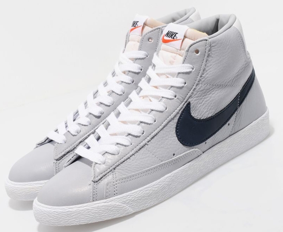 Nike Blazer High Vintage size? Exclusive ナイキ ブレザー ハイ ヴィンテージ size? 別注(Grey/Navy)