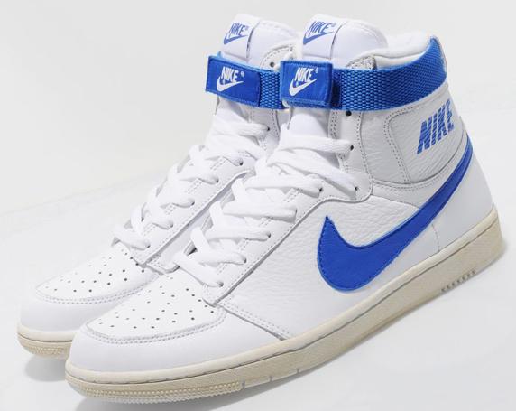 Nike Dynasty Hi Vintage size? Exclusive ナイキ ダイナスティ ハイ ヴィンテージ size? 別注(White/Royal Blue)