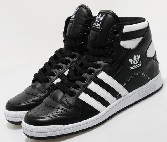 Adidas Originals Decade Hi Only at UK アディダス オリジナルス ディケイド ハイ UK限定(Black/White)