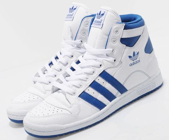 Adidas Originals Decade Hi Only at UK アディダス オリジナルス ディケイド ハイ UK限定(White/Blue)