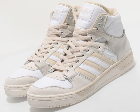 Adidas Originals Conductor Hi Only at UK アディダス オリジナルス コンダクター ハイ UK限定(White/Clay)