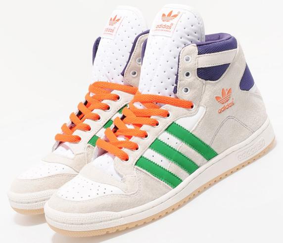 Adidas Originals Decade Hi Only at UK アディダス オリジナルス ディケイド ハイ UK限定(White/Green/Purple)